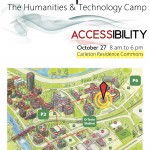 Location Map for THATCamp Accessibility. Residence Commons is 'CO' on any campus directory.